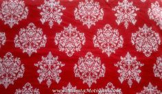This red damask Indian block print fabric is amazing! It is lightweight and soft cotton with beautiful white damask floral designs on red background. Price: $10.00 http://www.mamtamotiyani.com/product/red-damask-indian-block-print-fabric-by-the-yard