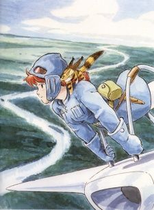 Nausicaa of the Valley of the Wind. When I was 6 I never wanted to be a Disney Princess--I wanted to be her.