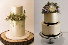 woodland wedding cakes by Faye Cahill