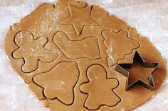 Gingerbread Cookies - slightly chewy, spiced but not too spiced, and perfect for rolling out and cutting into whatever fun shapes you choose. Holiday Treats, Christmas Treats, Christmas Cookies, Holiday Recipes, Christmas Gingerbread, Cupcakes, Cupcake Cookies, Sugar Cookies, Baking Recipes