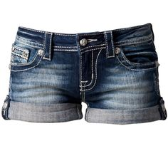Miss Me Olga Jeans ($92) found on Polyvore