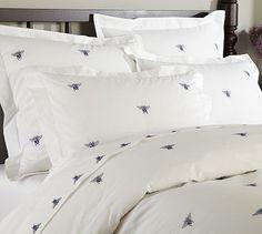 Napoleon bees bedspread