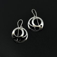 Salmon Egg - Silver Earrings Salmon Eggs, 8 Weeks, Silver Earrings, Canning, Artist, Jewelry, Ideas, Jewels, Home Canning
