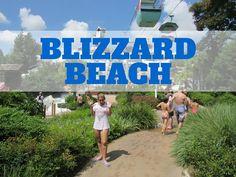 Carol Capel em Disney´s Blizzard Beach - Atrações, Comidinhas e Muito Mais!