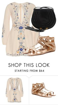 """Untitled #4291"" by beatrizvilar on Polyvore featuring Aquazzura and Chloé"
