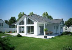 ᐅ Bungalow 135 Bungalows, Summer House Garden, Dream House Exterior, Small House Plans, Interior Exterior, Cottage Homes, Modern House Design, Palm Beach, Future House