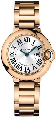 Cartier Ballon Bleu Women's 18K Rose Gold Watch