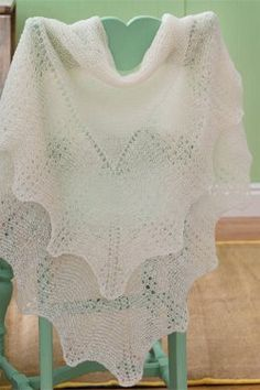 Rachel Lace Shawl to Knit - Media - Knitting Daily