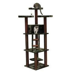 @Overstock - The Redwood Cat Tree is the largest of our forest line of cat furniture. The green fabric and brown sisal rope give your cat a feeling of being outdoors amongst the trees while actually being safe inside your home. http://www.overstock.com/Pet-Supplies/Redwood-Cat-Tree-Furniture/6059408/product.html?CID=214117 $121.99