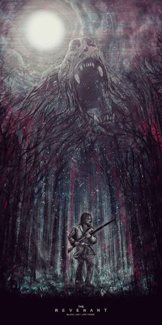 The Revenant | #movieposter #illustration #design