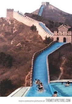 What should have been done with the Great Wall of China…