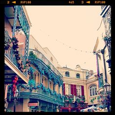 New Orleans Square in Anaheim, CA