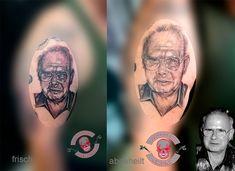 #Portrait #Porträt #tattoo #love #luckyheads #nofilter #tattooitzehoe #luckyheadstattoo #realistic #realisticportrait #alphasuperfluid Head Tattoos