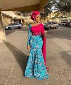 "Asoebi Styles on Instagram: ""Fab and pretty in @zemphanie 👸💙"" Asoebi Styles on Instagram: ""Fab and pretty in @zemphanie 👸💙"" African Dresses For Kids, African Wear Dresses, African Fashion Ankara, Latest African Fashion Dresses, African Print Fashion, African Lace Styles, African Style, Ankara Gown Styles, Latest Ankara Styles"