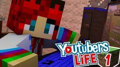 Youtubers Life a Minecraftban!  - Célom a 10.000 Feliratkozó! -1. rész