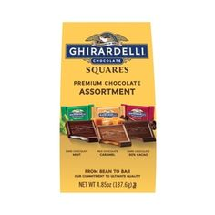 Ghirardelli Chocolate Squares, Egypt, Guy, Sweets, Candy, Snacks, Food, Appetizers, Gummi Candy