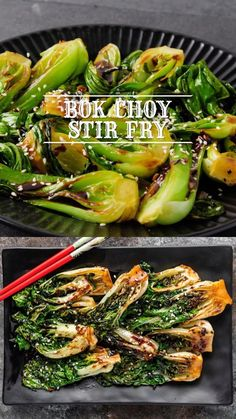 This stir fry salad combines tender bok choy with a homemade umami-flavored sauce. Make this recipe for an easy 10-minute side dish!