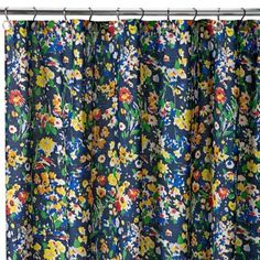 Teen Vogue Folksy Floral Shower Curtain - BedBathandBeyond.com