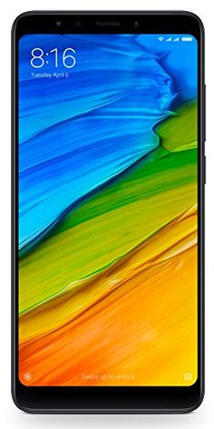 Mehr Infos Xiaomi Redmi 5 Plus Smartphone (Dual Sim, Display, Kamera, Android Schwarz Best Android Phone, Best Mobile Phone, Best Smartphone, Mobile Phones, Top 10 Smartphones, Compare Phones, Memoria Ram, 2gb Ram, Note 5