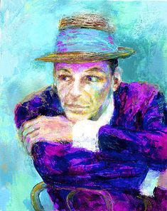 leroy neiman nieman frank sinatra the voice rat pack