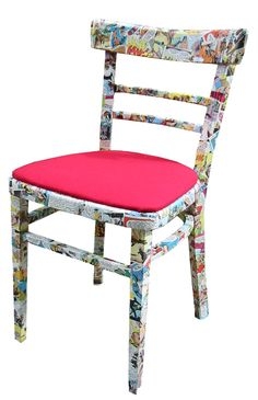 Comic covered chair!!