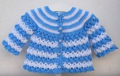 Crochet Jacket for Baby – Free Pattern | love Crafs