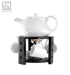 Servizio da tè con supporto - Cucina Etnica