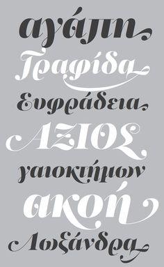 Greek script