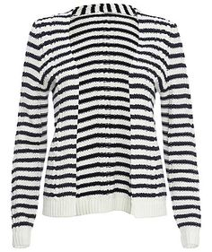 Strickjacke von S. Oliver #fashion #stripes #autumn #engelhorn
