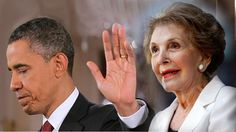 """pinner: I just about lost my cookies when I heard him -- One Minute Shock Video: Obama Accuses Conservative Tea Party Leaders of """"Breaking Apart"""" the Vision of America's Founding Fathers! What an asshole. Nancy Reagan, The Enemy Within, Obama Administration, Global News, Right Wing, Founding Fathers, History Books, Current Events, Tea Party"""