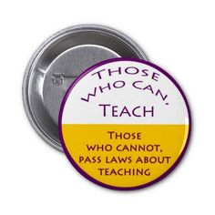 Those Who Can Teach Buttons