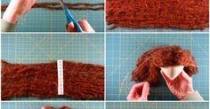 Mimin Dolls: tutorial cabelo de lã