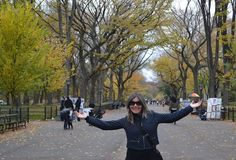 The Mall, Central Park, place of a lot of film locations.