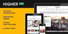 Higher Multi-Purpose Premium WordPress Theme by Themeforest