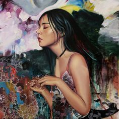 Athens, GA artist Young Lim Lee #artistaday #ArtistOfTheDay #GAart #UGA #emergingart