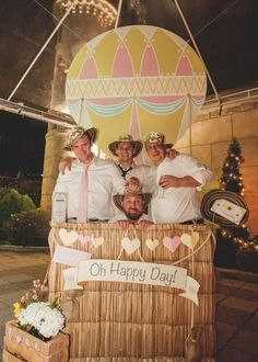 Around the World in 80 Days | Photo Booth Backdrops That are a Picture Perfect Party Idea