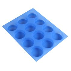 12 Bar Round Silicone Mold $12.50