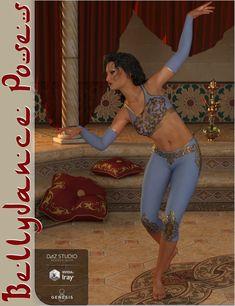 Bellydance Poses for Genesis 8 Female -