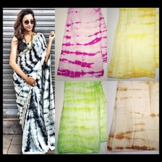 Tie and dye saree more and more colors available Come buy your favorite colour now To purchase mail us at houseof2@live.com or whatsapp us on +919833411702 for further detail #sari #saree #satin #tiedye #traditional #traditionalwear #pink #green #yellow #beige #black #white #ethnic #houseof2