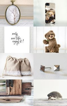 Cozy and neutral  by Urtė and Simona on Etsy--Pinned with TreasuryPin.com