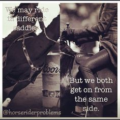 Cowgirls and horse lovers