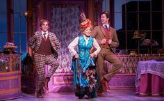 From left, Taylor Trensch, Bette Midler and Gavin Creel in Hello, Dolly!