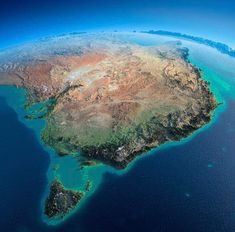 """""""Exaggerated Relief Map of Eastern Australia and Tasmania Made by: Anton Balazh Earth And Space, Beautiful World, Beautiful Places, World Relief, Australia Map, Space Australia, Australia House, Western Australia, Mountain Range"""