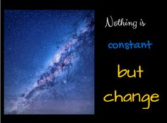 It is the constant of the #universe.