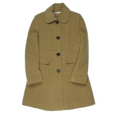 Kenneth Cole New York Womens Wool Collared Coat