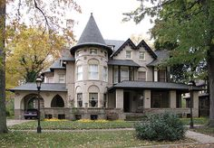 Turreted Home in Indian Village District, Detroit, MI