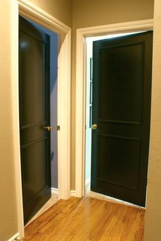 As Promised, Hereu0027s A Look At My Freshly Painted Interior Doors. Well Over A