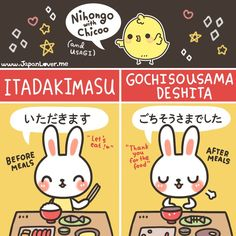 Learn Japanese for a real communication for your work, school project, and communicating with your Japanese mate properly. Many people think that Learning to speak Japanese language is more difficult than learning to write Japanese Japanese Phrases, Japanese Words, Japanese Tumblr, Study Japanese, Japanese Culture, Japanese Meals, Japanese Notebook, Japanese Etiquette, Learn Japan