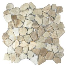 Show glazed quartz mosaic tile