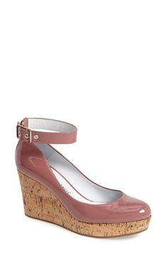 Pedro Garcia 'Octavia' Ankle Strap Wedge (Women) available at #Nordstrom